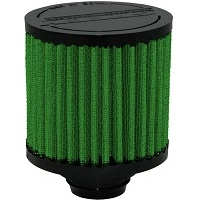 """Green Breather Filter, Push in design, 32mm, 1.25"""" (2027)"""