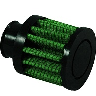 """Green Breather Filter, 15mm, 0.59"""" Inlet (2079)"""