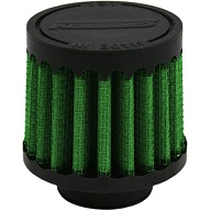 """Green Breather Filter, 19mm, 0.75"""" (2110)"""