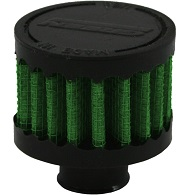 """Green Breather Filter, 15mm, 0.59"""" Inlet, (2115)"""