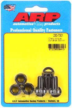ARP Torque Converter Bolts, 3/8-24, Chevrolet, Powerglide, TH350/TH400, (230-7301)