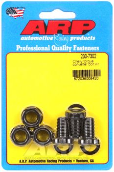 ARP Torque Converter Bolts, 7/16-20, Chevrolet TH350, TH400, Powerglide, (230-7302)