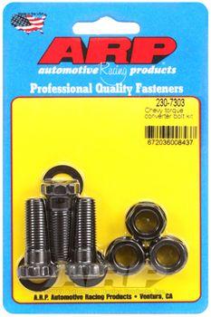 ARP Torque Converter Bolts, 7/16-20, Chev, TH350, TH400 & Powerglide, (230-7303)