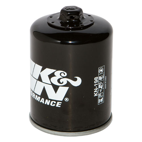 K&N oil filter (KN-198) Polaris Sportsman, Polaris Ranger, Victory Vision,  HF198