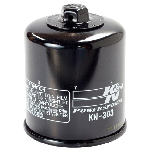K&N oil filter (KN-303) Honda, Kawasaki, Polaris, Victory, Yamaha, Fram  PH6017A, HF303