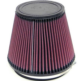 "K&N Universal Air Filter (RU-3100) 152mm, 6"" inlet x 6"" long"