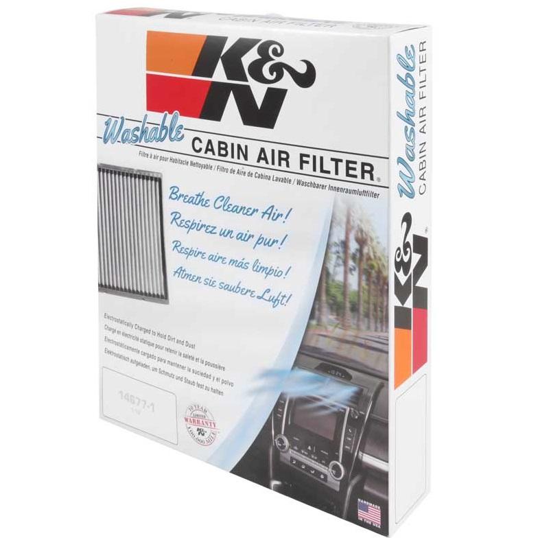 K&N Cabin Filter, Hyundai Accent, i40, iX35, Veloster, Kia Carens, Rondo,  Rio, 05/16 (VF2007)