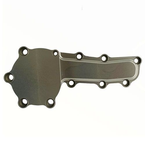 Yelsha-D, RB20, RB25, RB26 Water Pump Blanking Plate, (SILVER)
