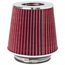 "K&N Adjustable, Red Pod Filter (RG-1001RD) Fits 3"" Inlet, 3.5"" Inlet & 4"" Inlet x 5.5"" long"
