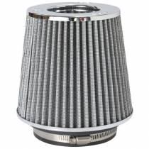 "K&N Adjustable, WHITE Pod Filter (RG-1001WT) Fits 3"" Inlet, 3.5"" Inlet & 4"" Inlet x 5.5"" long"